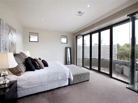 Classic Bedroom Design Idea With Carpet Balcony Using Bedroom Balcony Designs