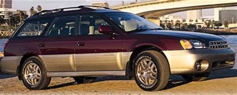 2000 subaru legacy outback limited passenger side view photo 1