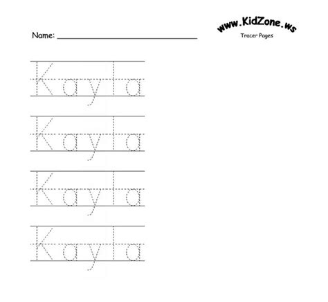printable tracing sheets name 6 best images of printable traceable names free