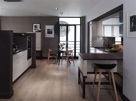 kitchen with big island matt n surrella s taste remo contemporary curved gloss kitchen in cashmere