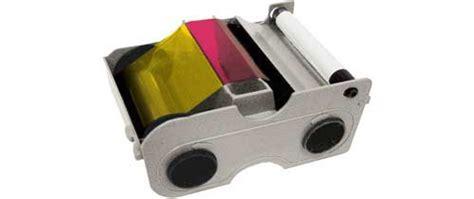 Fargo Color Ribbon Ymcko Cartridges 250 Images Prints Pn 45000 fargo 44200 ribbon