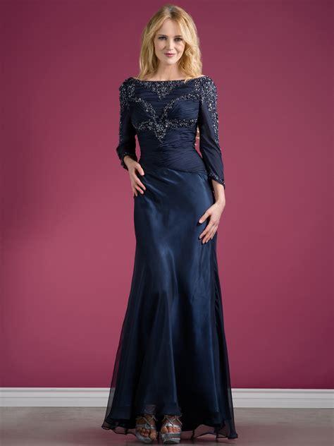 long sleeve beaded evening dress sung boutique la