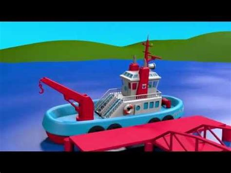 cartoon boat game boats and ships for children construction game tugboat