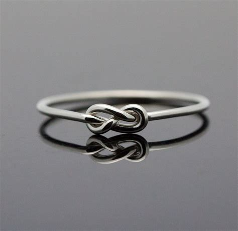 infinity ring sterling silver knot ring best by