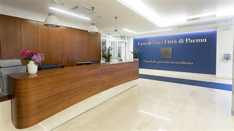 il nuovo atrio della casa di cura clinica citt 224 di parma