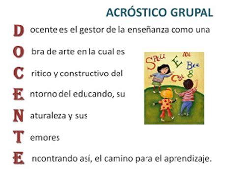acrostico con la palabra sunat pedagogiaunimag acr 243 stico grupal