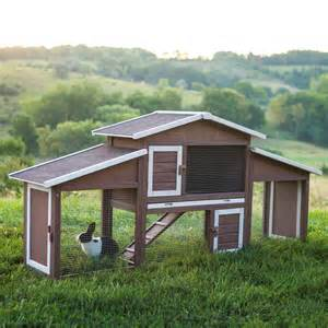 Boomer amp george dual use rabbit hutch chicken coop chicken coops at