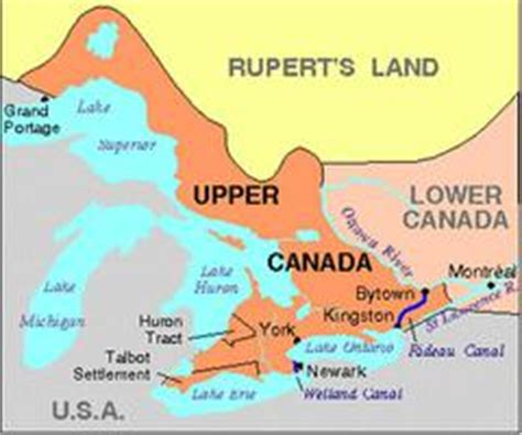 upper canada the canadian encyclopedia