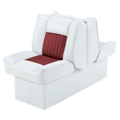 back to back boat seat installation wise 174 designer series back to back lounge boat seat with