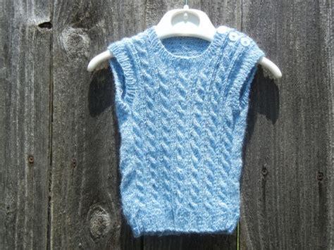 baby knitted vest knit vest newborn alpaca vest aftcra