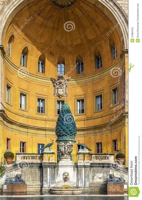 cortile della pigna cortile della pigna vatican stock photo image 47860416