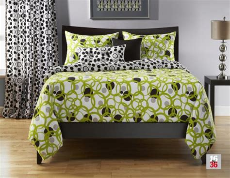 black green comforter lime green and black comforter and bedding sets