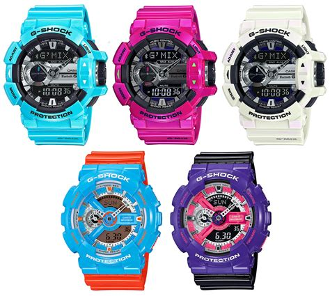 G Shock Gba 400 Blue Glossy by New G Shock Gba 400 And Ga 110nc Colors G Central G