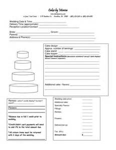 Cake Order Form Template by 75 Best Images About Cake Business Order Form On