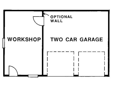 garage shop floor plans garage workshop plans two car garage plan with workshop
