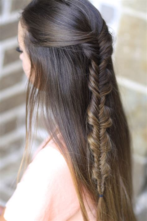 bubble hairstyle the no band bubble fishtail braid cute girls hairstyles