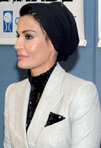 Blouse Moza highness sheikha mozah hrh sheikha mozah hair cover princess fashion and