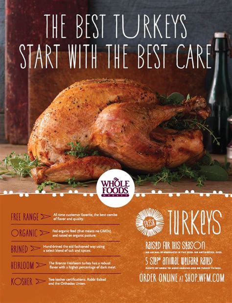 whole foods turkey thanksgiving win an organic turkey from whole foods