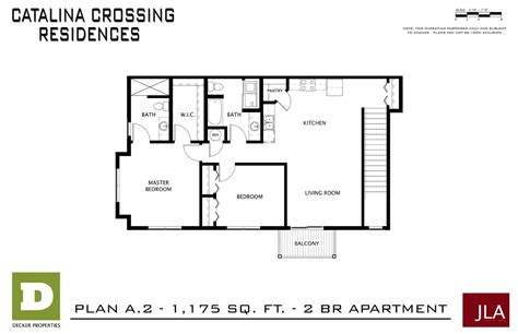 Madison Residences Floor Plan by Catalina Crossing Apartments In Madison Decker Properties