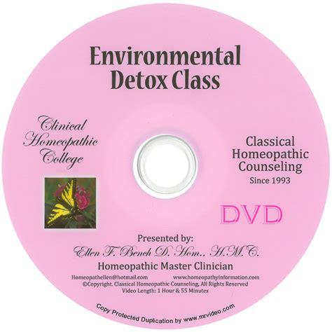 Detox Environmental by Environmental Detox Dvd Homeopathy Classes