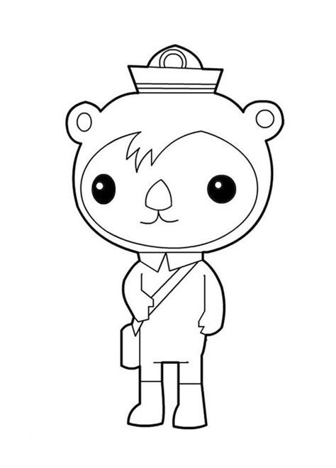 octonauts coloring pages the octonauts coloring pages barriee