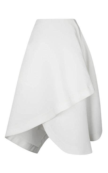 White Origami Skirt - best 25 origami skirt ideas on envelope skirt