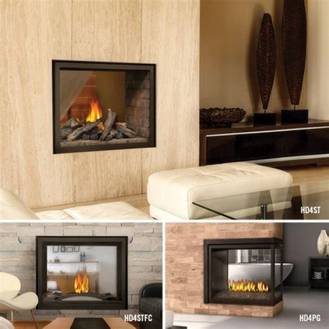 napoleon see through fireplace napoleon high definition see thru bhd4st gas fireplace