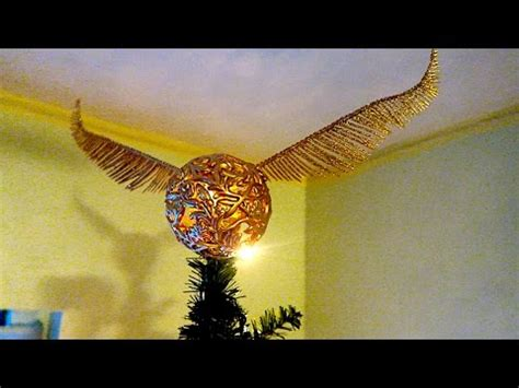 harry potter tree topper golden snitch tree topper