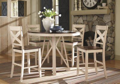 102248 ellinger counter height 5pc dining set coaster