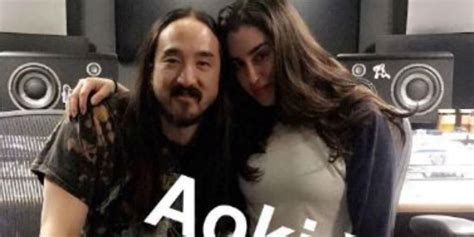 steve aoki and lauren steve aoki says expect the unexpected with lauren
