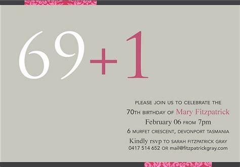 Seventy Birthday Quotes 70th Birthday Invitation 365greetings Com
