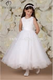 2015 cheap holy communion dresses for girls white first