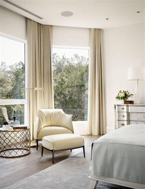recessed window curtains modern villa master bedroom 183 more info