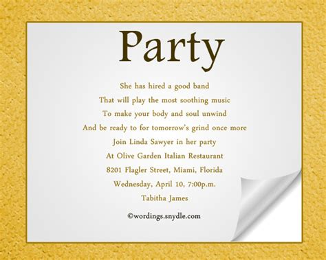birthday invitation words invitation wording wordings and messages