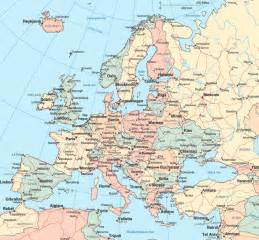 Road Map Of Europe by Europe Road Map Europe Map Roadmap Map Sharing All
