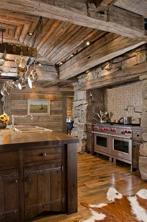 rustic cabin kitchen ideas 10 best images about rustic kitchens on pinterest french