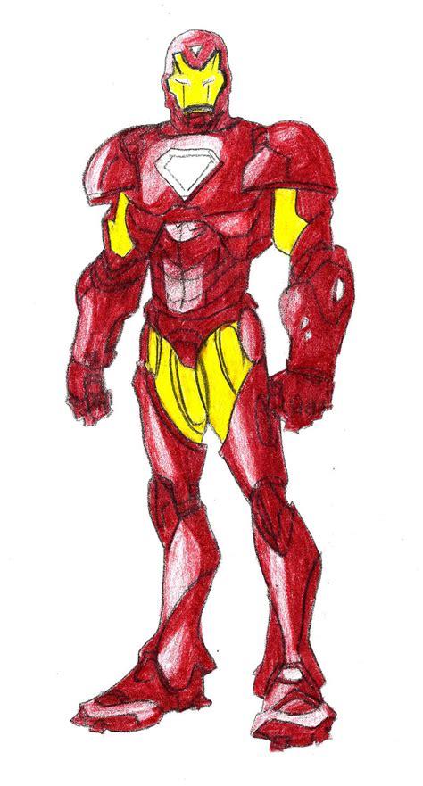 4 ways to draw iron man wikihow