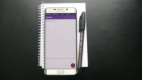 android notepad let s build a simple notepad app for android android authority