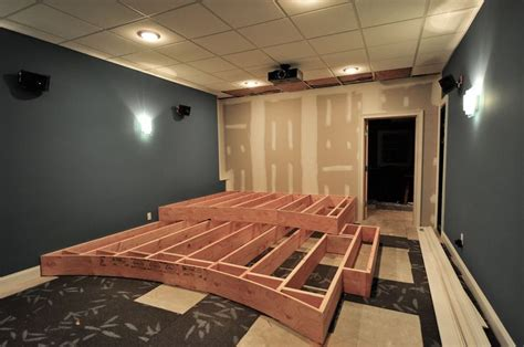 riser room home theater redux home theater the riser theater room basements room and