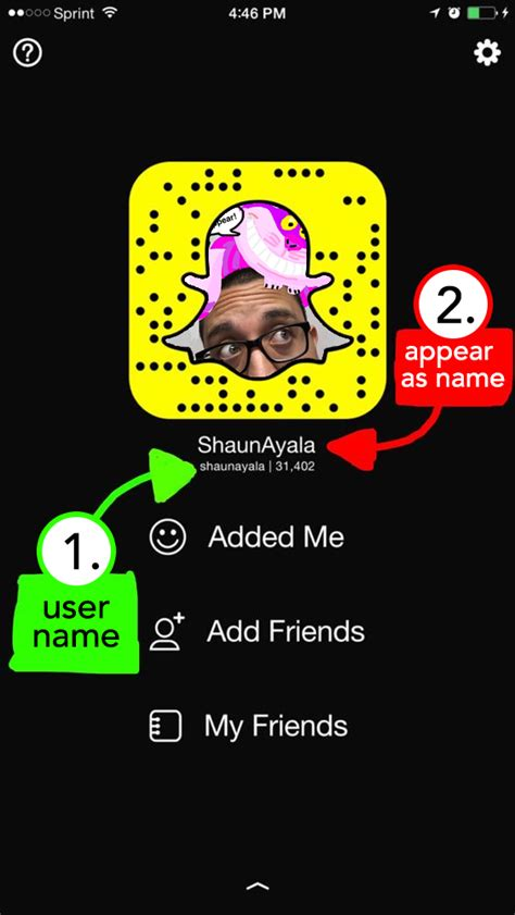 How To Add On Find My Friends Change Your Snapchat Name All Things Snap