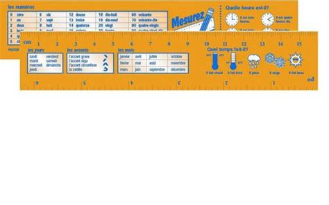 printable reference ruler french reference ruler walmart ca