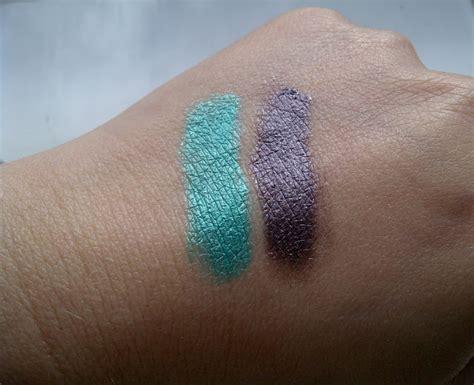 Inez Eyeshadow Swatch beautyswot kiko make up fierce spirit colour shock eyeshadow swatches