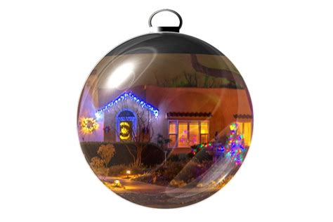 how to create a christmas ornament with photo inside using