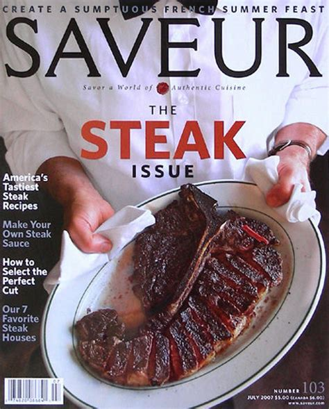 Peter Lugers Gift Card - saveur the steak issue 2007