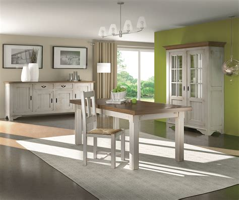 Promo Meuble Bergerac by Collection Annecy Table Chaises Bahut Vitrine