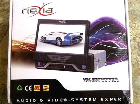 Tv Mobil Nexia audio car monitor tv mobil