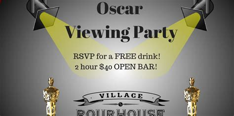pour house nyc where to watch the 2017 oscars in nyc viewing parties more 171 cbs new york