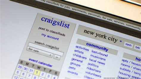 craigslist map craigslist finally forced to innovate as competition edges
