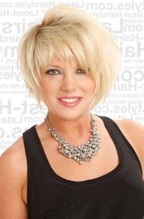 good hair style for women over 50 with round face and frey rhin hair photo gallery of short hairstyles for women over 50 with