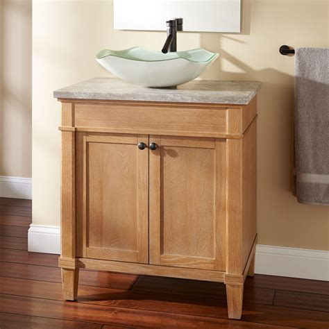 Vanity For Vessel Sinks 30 quot marilla vessel sink vanity bathroom